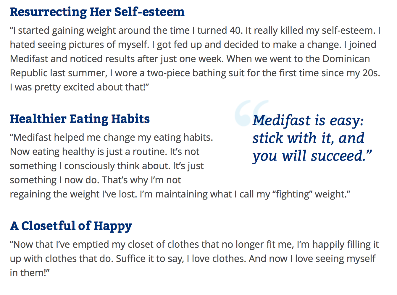Highlights for Medifast. Losing weight is a long and difficult process. But when you have help from Medifast, a well-respected meal plan program, you won't have to do it alone.