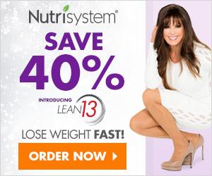 nutrisystem spokeswoman Marie Osmond standing next to their latest sale annoucmenet