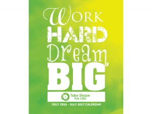 work hard dream big with the TSFL program