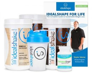 idealshape shakes and product guide