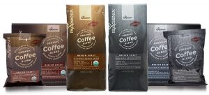 a variety of isagenix coffee flavors
