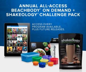 on demand challenge pack with shakeology
