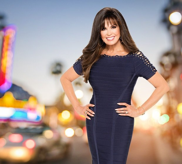 a picture of marie osmond in las vegas