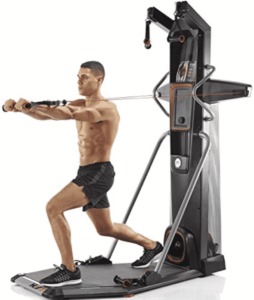 a fitness model trys the bowflex hvt