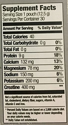platinum supplement facts