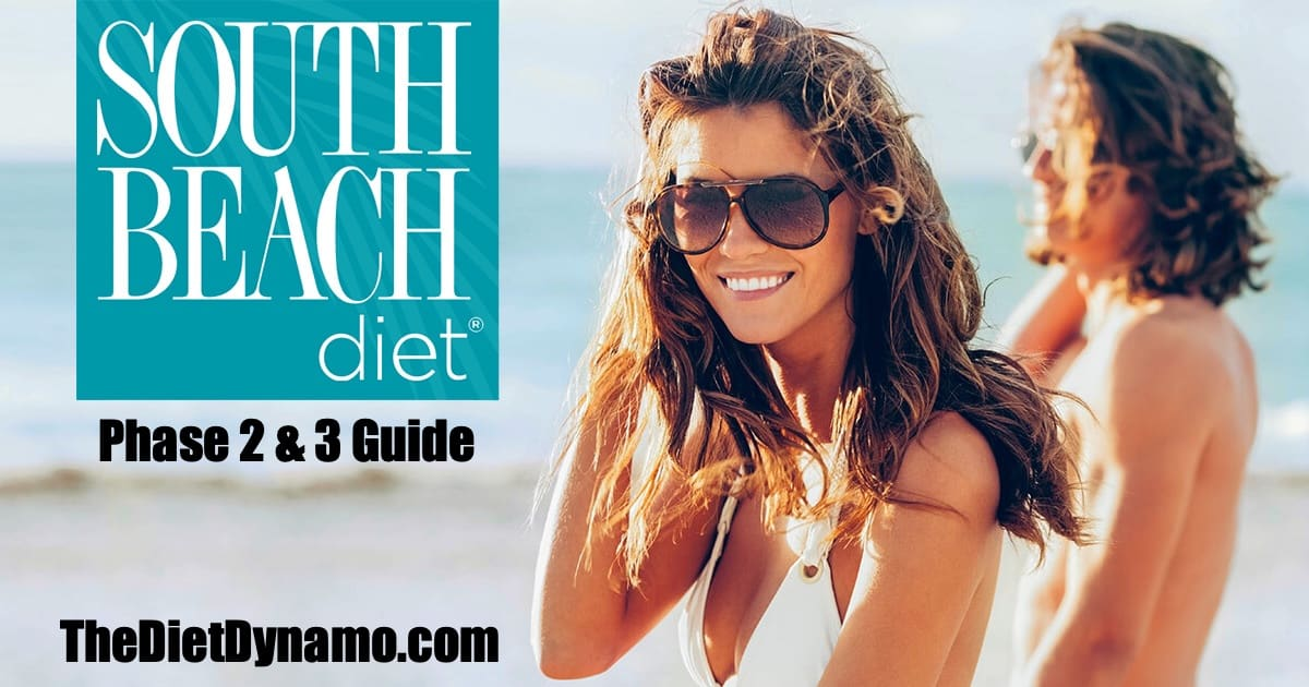 south beach diet phase 2 and 3 guide