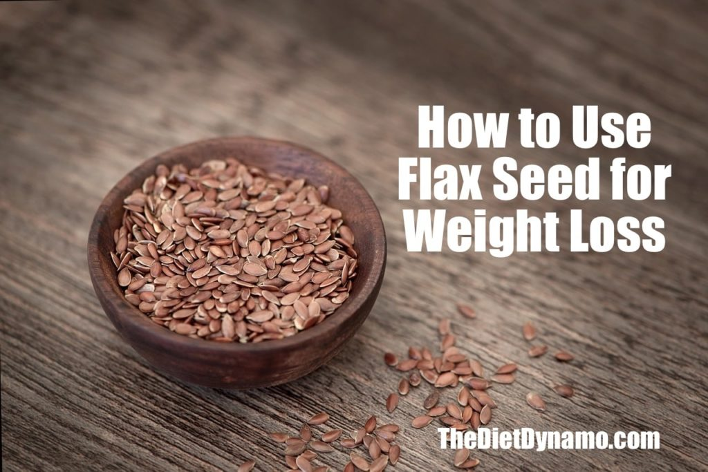 how to use flax seed for weight loss