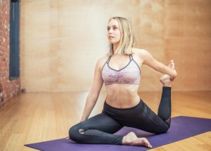 yoga is one total body exercise that may help blast neck fat
