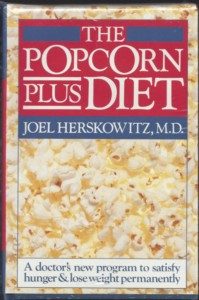 the cover of the popcorn plus diet book