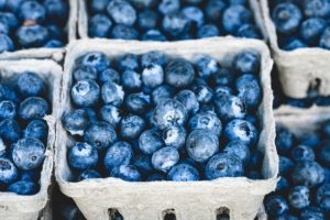 blueberries are a approved food on the cruise control diet