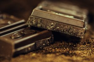dark chocolate bars are an approved cheat meal