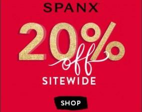 spanx 20 percent off sale