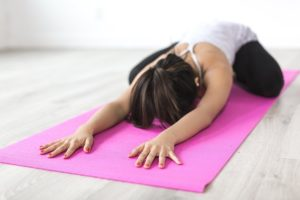 fitness like yoga is part of making healthy lifestyle changes