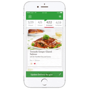 the home chef app which you can use for everything