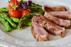 a keto inspired meal for dinner
