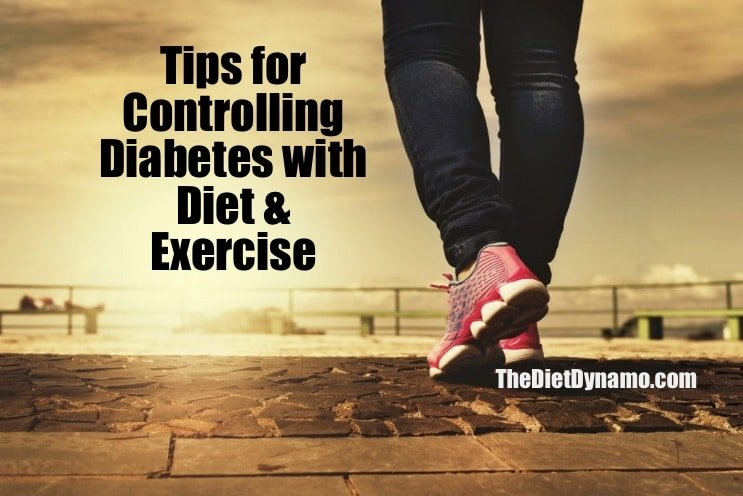 tips for helping diabetes with the right diet and exercise programs
