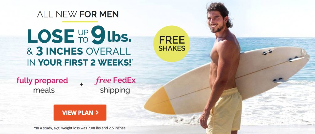 a guy shows off his weight loss with the south beach diet
