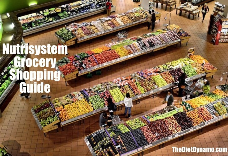 the nutrisystem grocery shopping guide