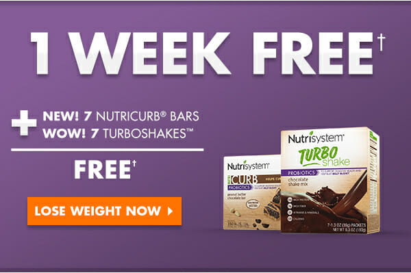 nutrisystem free trial banner