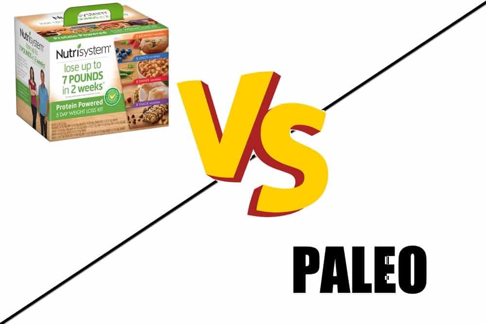 nutrisystem vs the paleo diet