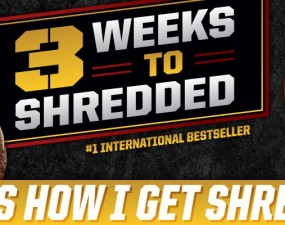 the 3 weeks to shredded program reviewed