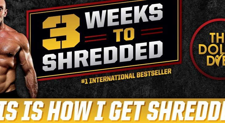 the 3 weeks to shredded program reviewed