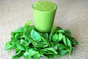 a spinach smoothie is a very healthy nootropic snack