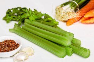 a pile of celery