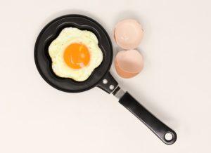 fried egg for breakfast