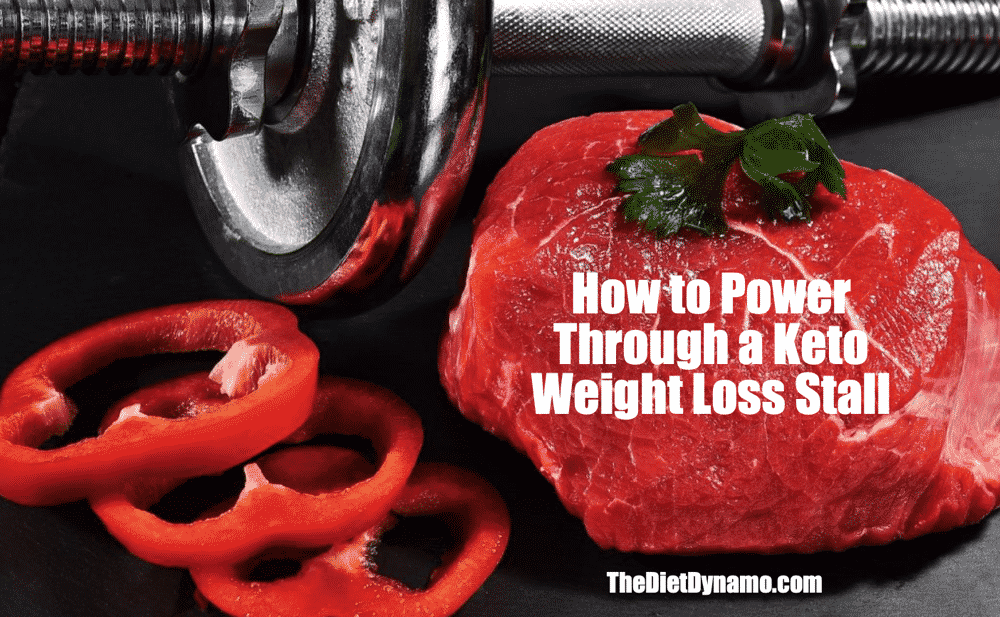 how to power through the keto weight loss plateau