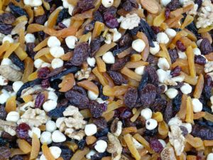 trail mix can make a good snack in small doses