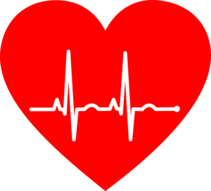 an ekg shows the heart healthy benefits of drinking red wine