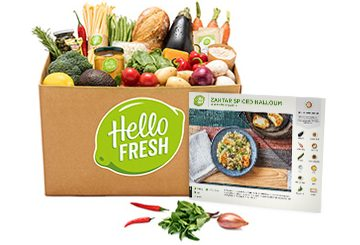 hello fresh box of food