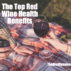 top health benefits linked to red wine