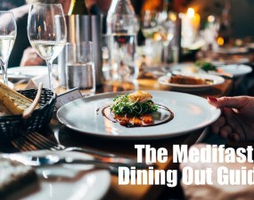 eating out at a resturant while following the medifast diet