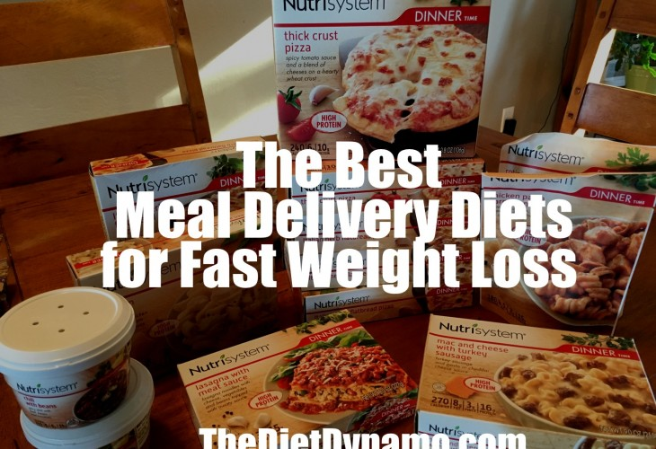 our top rated meal delivery diet nutrisystem displayed on the dinner table