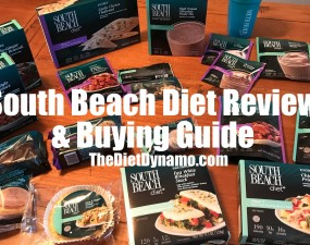 south beach diet meals snacks and shakes on my dining room table