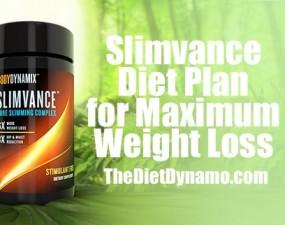 the slimvance diet plan for maximum weight loss