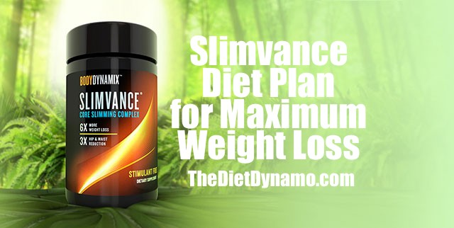 the slimvance diet plan for maximum weight loss