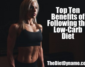 fit woman - benefits of low card diet