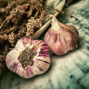 garlic can help with your high cholesterol