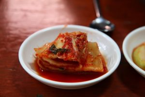kimchi is a great fermented food choice