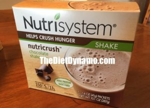 a box of nutrisystem shakes that I bought around the holidays