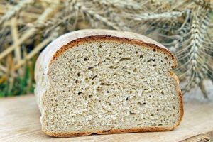 a loaf of whole wheat bread