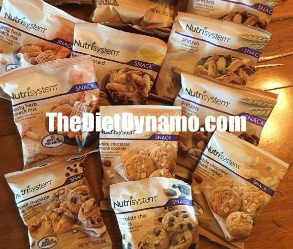 nutrisystem snacks