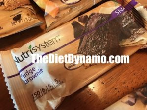 one of my favorite nutrisystem snacks a fudge brownie