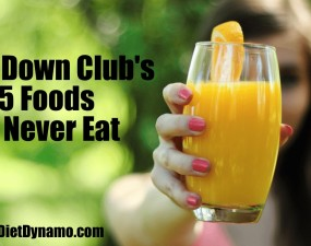 the five foods you should never eat according to trim down club