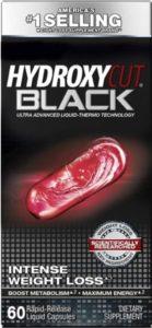 a box of hydroxycut black