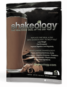 a chocolate shake pouch which is one of my favorite flavors