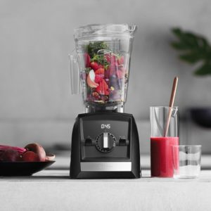 a vitamix blender ready to make a smoothie